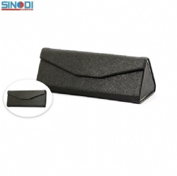 triangle folding sunglasses case