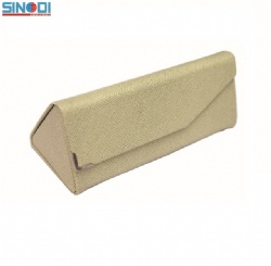 triangle foldind sunglasses case